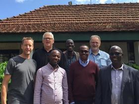 <p>ICOMB leaders. Photo courtesy of ICOMB</p>